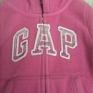 EUC GAP logo fleece hoodie/pant set Size: 18-24 mo